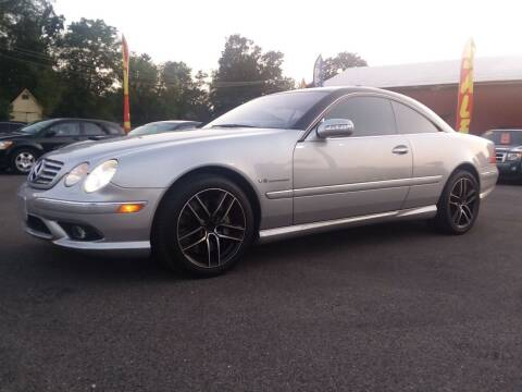 2003 Mercedes-Benz CL-Class for sale at NJ Quality Auto Sales LLC in Richmond IL