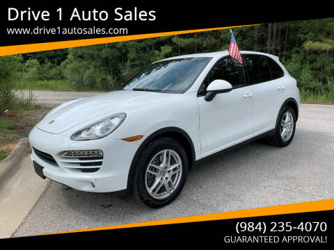 2013 Porsche Cayenne for sale at Drive 1 Auto Sales in Wake Forest NC