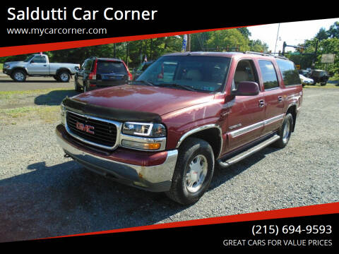 2001 GMC Yukon XL for sale at Saldutti Car Corner in Gilbertsville PA