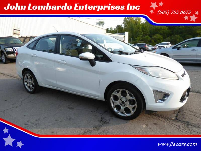 2011 Ford Fiesta for sale at John Lombardo Enterprises Inc in Rochester NY