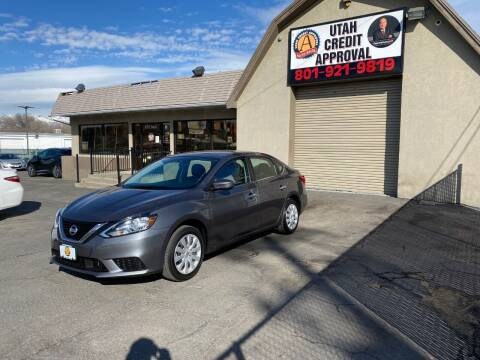 2018 Nissan Sentra for sale at Utah Credit Approval Auto Sales in Murray UT