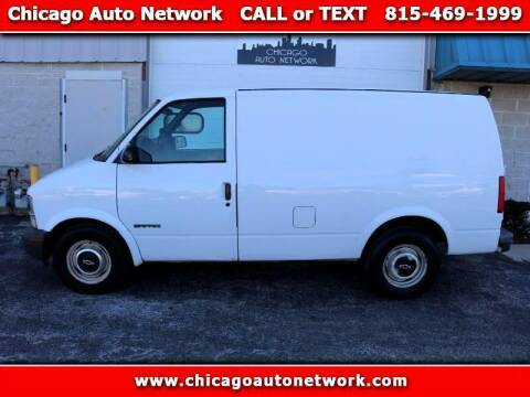 1998 Chevrolet Astro Cargo for sale at Chicago Auto Network in Mokena IL