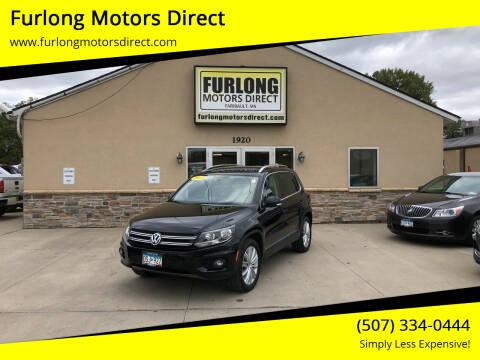 2013 Volkswagen Tiguan for sale at Furlong Motors Direct in Faribault MN