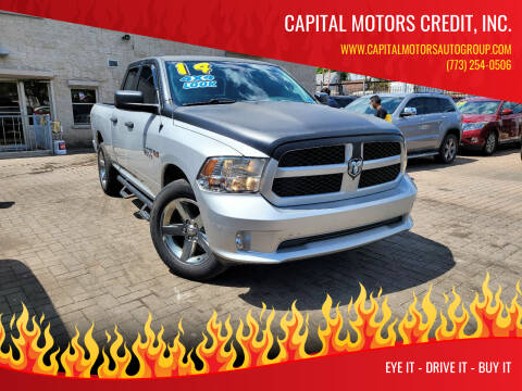 2014 RAM Ram Pickup 1500 for sale at Capital Motors Credit, Inc. in Chicago IL