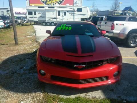 2012 Chevrolet Camaro for sale at AUTOPLEX 528 LLC in Huntsville AL