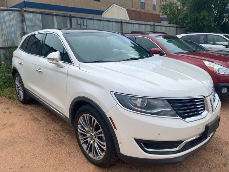 2016 Lincoln MKX for sale at Street Smart Auto Brokers in Colorado Springs CO