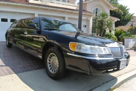1999 Lincoln Town Car for sale at Newport Motor Cars llc in Costa Mesa CA