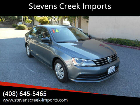 2016 Volkswagen Jetta for sale at Stevens Creek Imports in San Jose CA