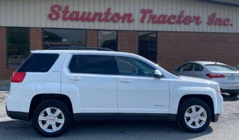 2015 GMC Terrain for sale at STAUNTON TRACTOR INC in Staunton VA