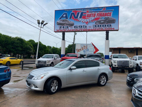 2015 Infiniti Q40 for sale at ANF AUTO FINANCE in Houston TX