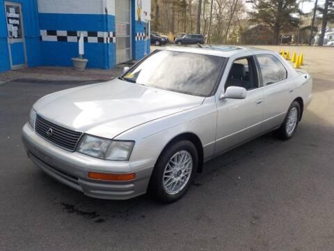 1995 Lexus LS 400 for sale at RTE 123 Village Auto Sales Inc. in Attleboro MA