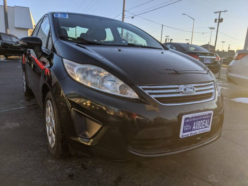 2013 Ford Fiesta for sale at GREAT DEALS ON WHEELS in Michigan City IN