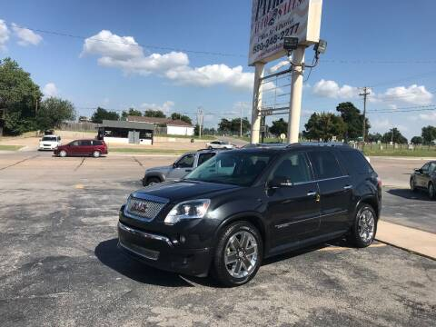 2012 GMC Acadia for sale at Patriot Auto Sales in Lawton OK