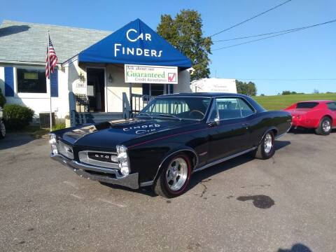 1966 Pontiac GTO for sale at CAR FINDERS OF MARYLAND LLC in Eldersburg MD