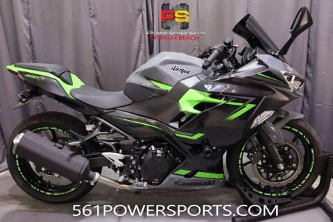 2019 Kawasaki Ninja 400 ABS for sale at Powersports of Palm Beach in Hollywood FL