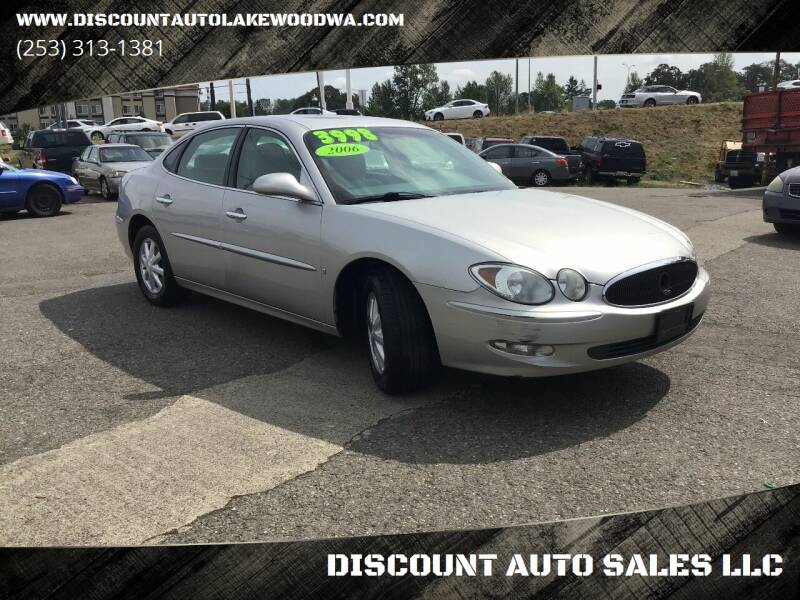 2006 Buick LaCrosse for sale at DISCOUNT AUTO SALES LLC in Lakewood WA