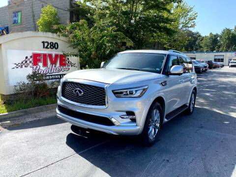 2019 Infiniti QX80 for sale at Five Brothers Auto Sales in Roswell GA