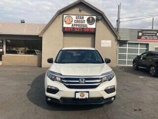 2016 Honda Pilot for sale at Utah Credit Approval Auto Sales in Murray UT