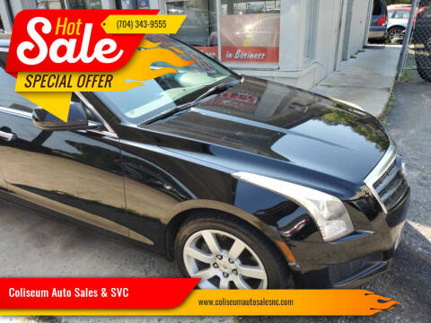 2013 Cadillac ATS for sale at Coliseum Auto Sales & SVC in Charlotte NC