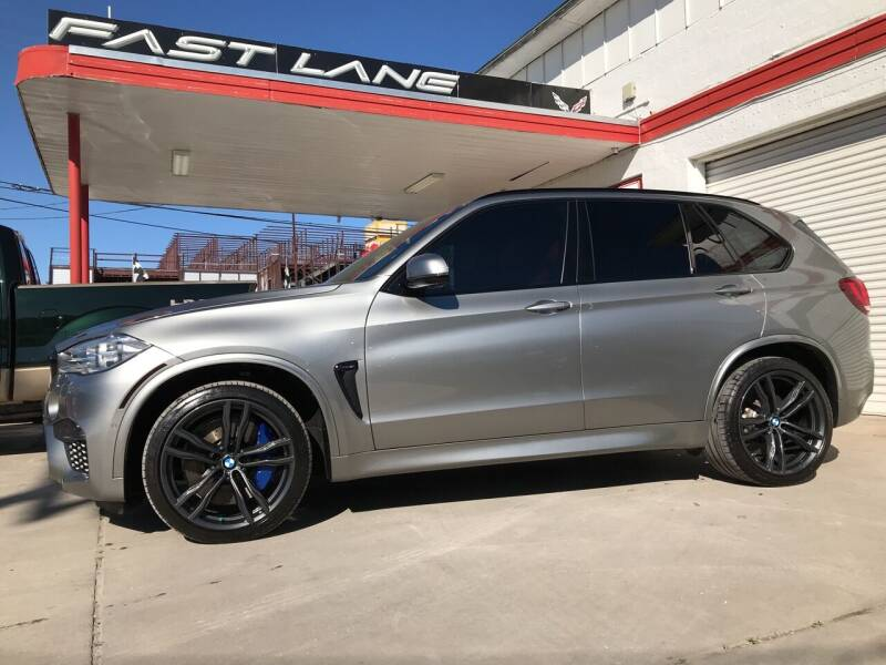 2017 BMW X5 M for sale at FAST LANE AUTO SALES in San Antonio TX