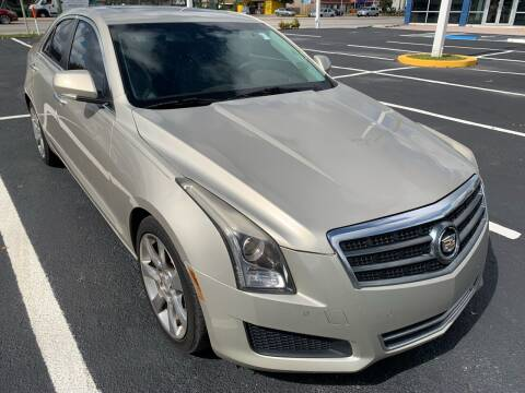 2014 Cadillac ATS for sale at Eden Cars Inc in Hollywood FL