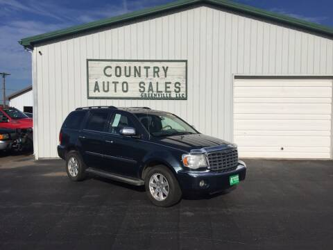 2008 Chrysler Aspen for sale at COUNTRY AUTO SALES LLC in Greenville OH