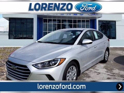 2017 Hyundai Elantra for sale at Lorenzo Ford in Homestead FL