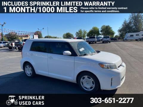 2012 Scion xB for sale at Sprinkler Used Cars in Longmont CO