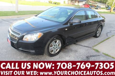 2008 Chevrolet Malibu for sale at Your Choice Autos in Posen IL