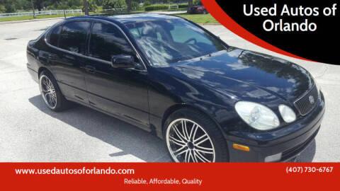 2003 Lexus GS 430 for sale at Used Autos of Orlando in Orlando FL