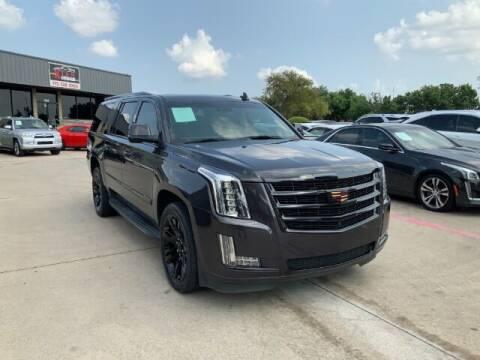 2015 Cadillac Escalade ESV for sale at KIAN MOTORS INC in Plano TX