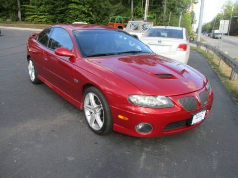 2006 Pontiac GTO for sale at Route 4 Motors INC in Epsom NH