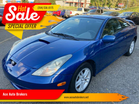 2000 Toyota Celica for sale at Ace Auto Brokers in Charlotte NC