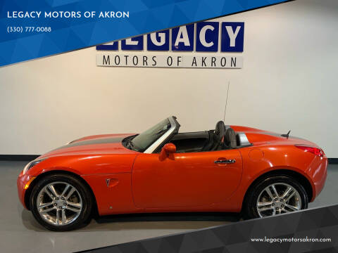 2009 Pontiac Solstice for sale at LEGACY MOTORS OF AKRON in Akron OH