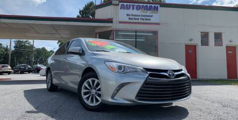 2015 Toyota Camry for sale at Automan Auto Sales, LLC in Norcross GA