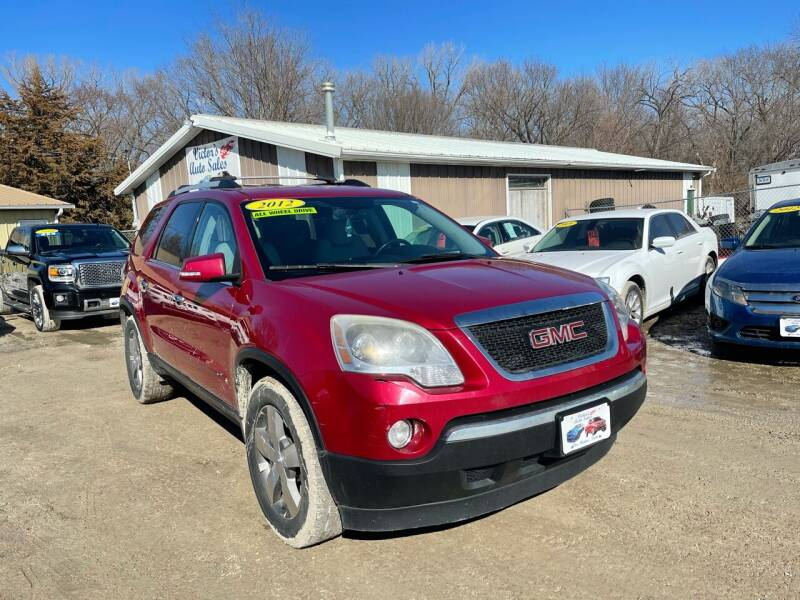 2012 GMC Acadia for sale at Victor's Auto Sales Inc. in Indianola IA
