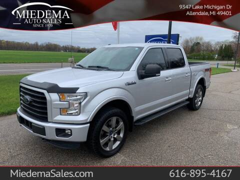 2016 Ford F-150 for sale at Miedema Auto Sales in Allendale MI