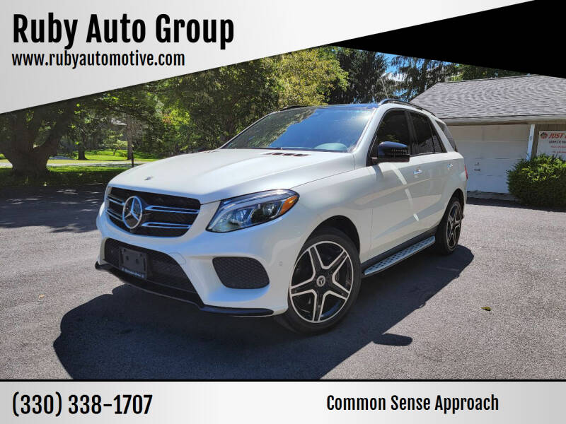 2019 Mercedes-Benz GLE for sale at Ruby Auto Group in Hudson OH