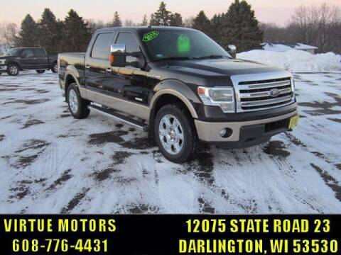 2014 Ford F-150 for sale at Virtue Motors in Darlington WI
