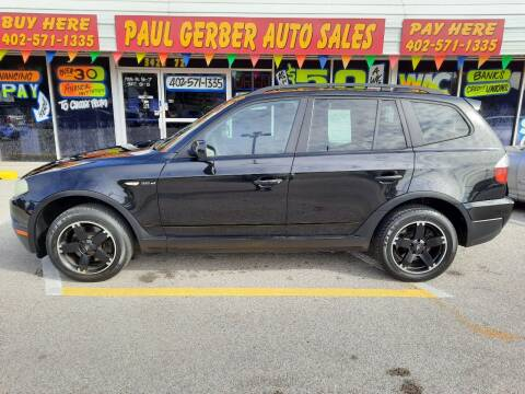 2007 BMW X3 for sale at Paul Gerber Auto Sales in Omaha NE