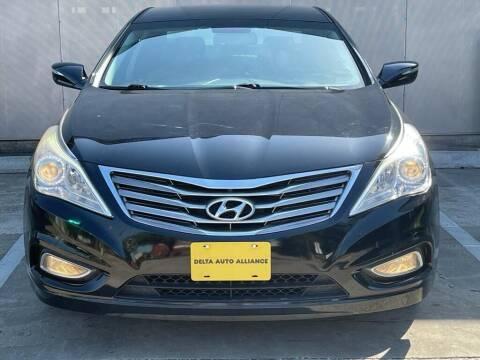 2013 Hyundai Azera for sale at Delta Auto Alliance in Houston TX