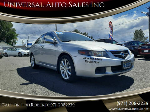 2004 Acura TSX for sale at Universal Auto Sales Inc in Salem OR