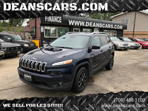 2014 Jeep Cherokee for sale at DEANSCARS.COM in Bridgeview IL