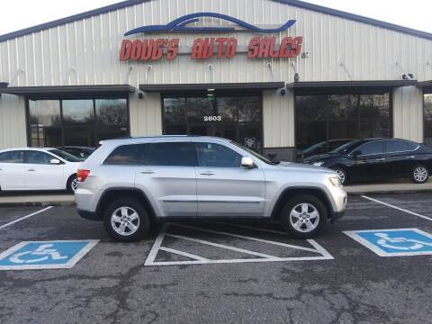 2011 Jeep Grand Cherokee for sale at DOUG'S AUTO SALES INC in Pleasant View TN