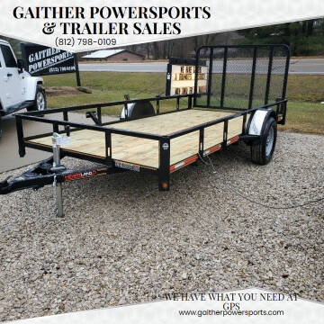 """2021 Heartland Utility 14'x76"""" with Gate for sale at Gaither Powersports & Trailer Sales in Linton IN"""