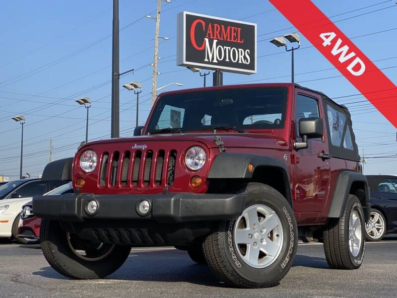 2012 Jeep Wrangler for sale at Carmel Motors in Indianapolis IN