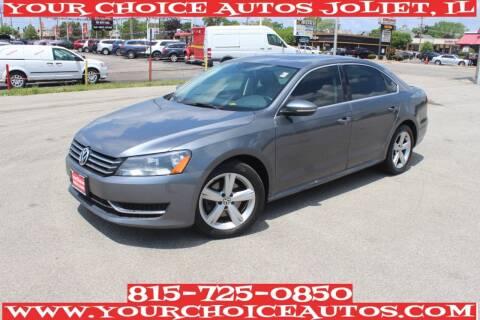 2012 Volkswagen Passat for sale at Your Choice Autos - Joliet in Joliet IL
