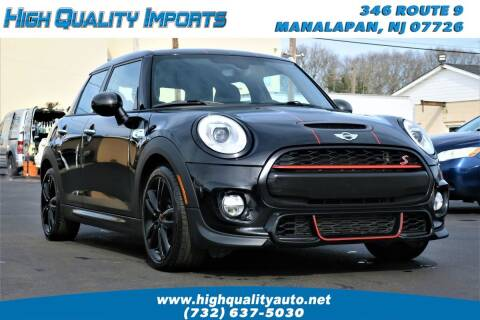2016 MINI Hardtop 4 Door for sale at High Quality Imports in Manalapan NJ