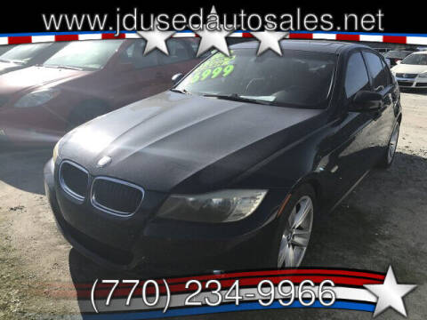 2009 BMW 3 Series for sale at J D USED AUTO SALES INC in Doraville GA