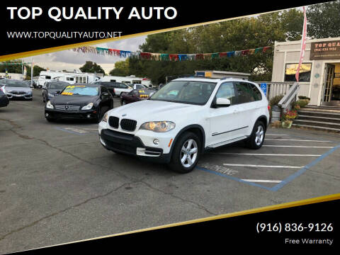 2010 BMW X5 for sale at TOP QUALITY AUTO in Rancho Cordova CA